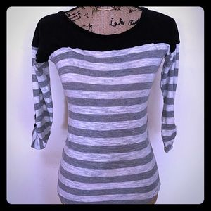 POOF Striped Long Sleeve Shirt